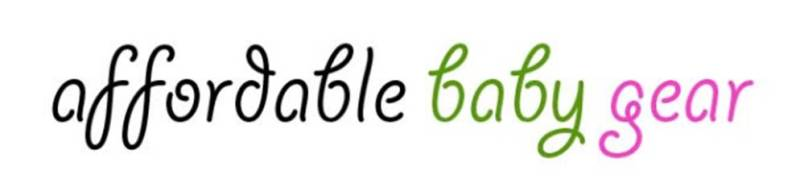 Affordable Baby Gear