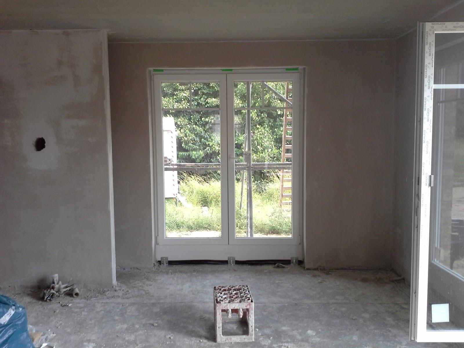 unser schultehaus in tespe die putzarbeiten gehen voran. Black Bedroom Furniture Sets. Home Design Ideas