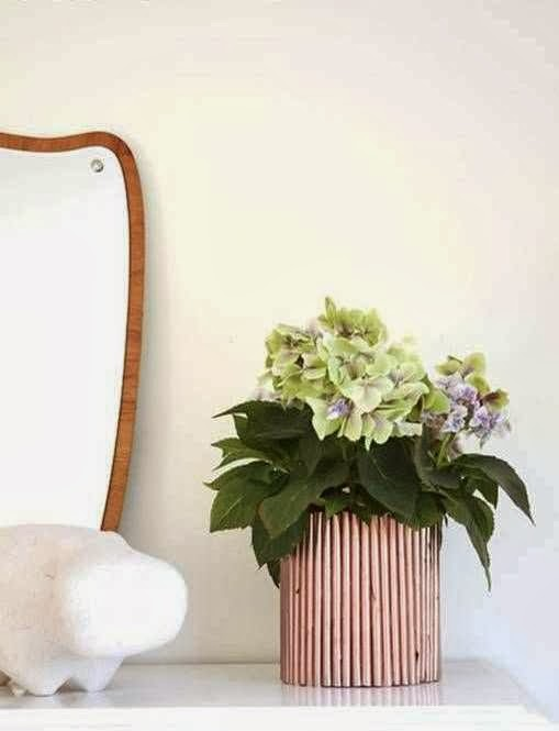 Cara Membuat Kerajinan Tangan Dari Kertas, Pot Bunga Koran Bekas