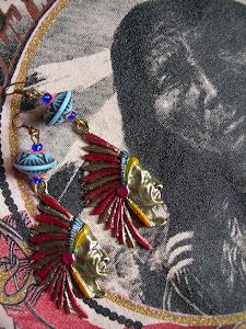 INDIANS - orecchini da KCs.