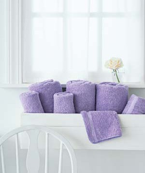To Da Loos Window Boxes Used To Hold Bath Towels - Lilac bath towels for small bathroom ideas