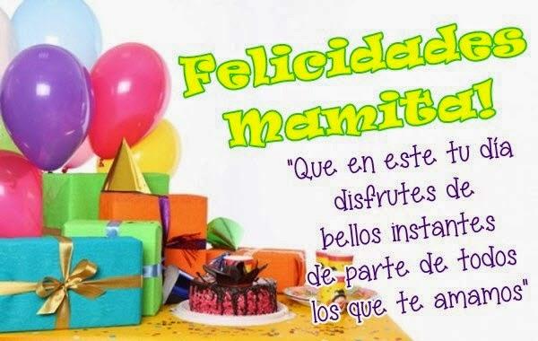 Imágenes con Mensajes de Cumpleaños para Mamá - ツ Imagenes y ...