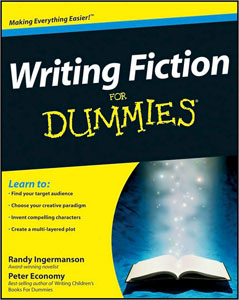 Portada de Fiction Writing for Dummies, de Randy Ingermanson y Peter Economy