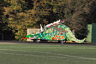 float for homecoming parade