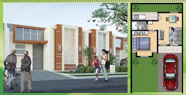 Rumah Tipe 30 Blok Onyx