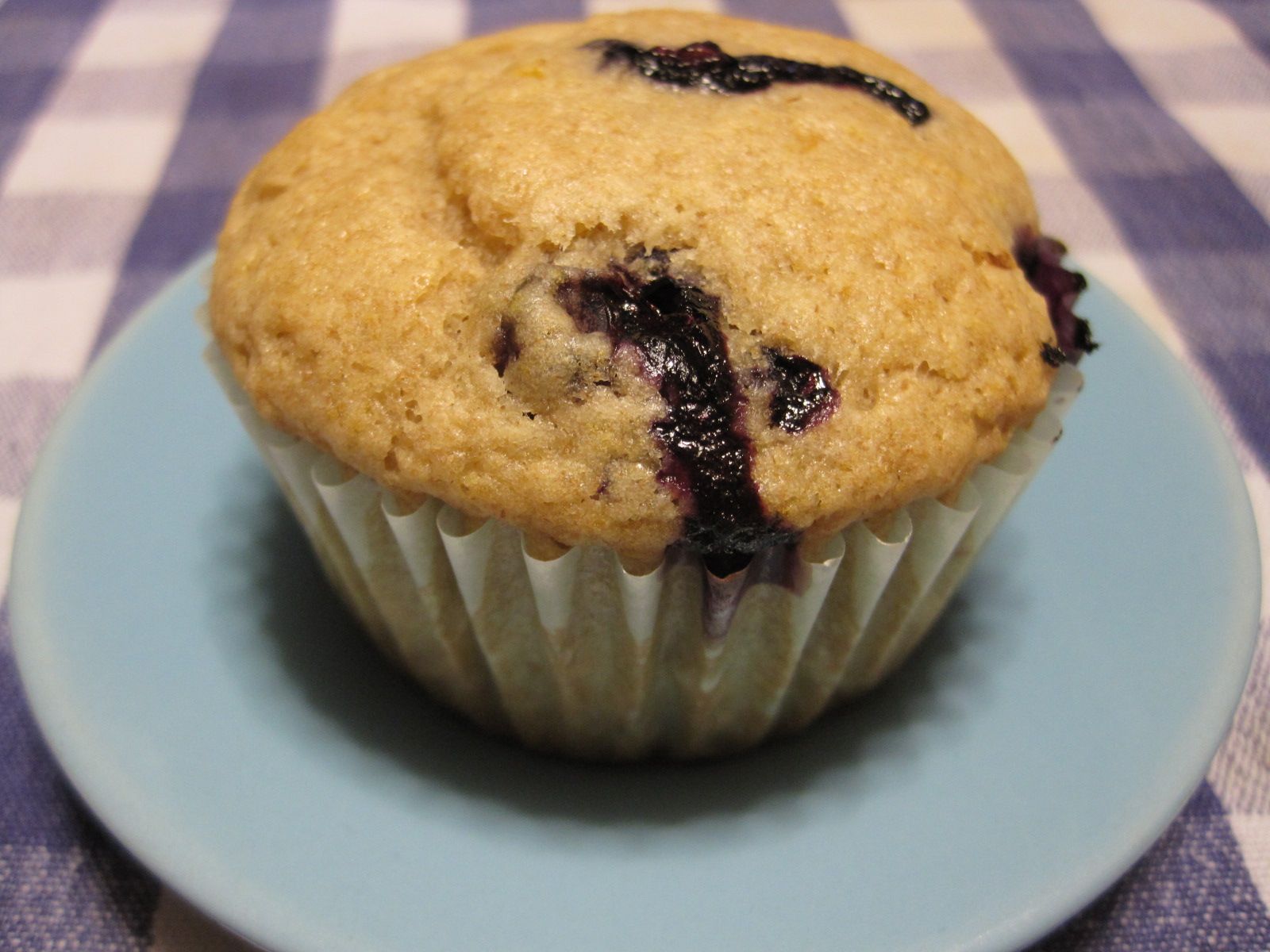 Musical Assumptions: Vegan Blueberry Lemon Almond Milk Muffins