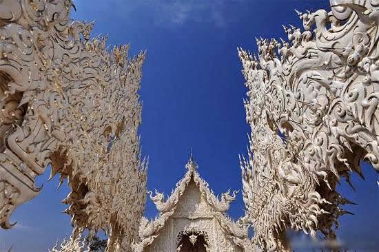 المعبد الأبيض..من أجمل الأبنية في العالم White-temple-thailand-Wat_Rong_Khun-7