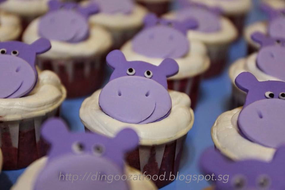 Mikis Food Archives Happy Hippo Birthday Cupcakes