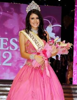 Ines Putri - Winner of Miss Indonesia 2012