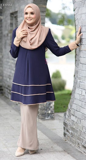 BLOUSE ESHAL (NURSING FRIENDLY)