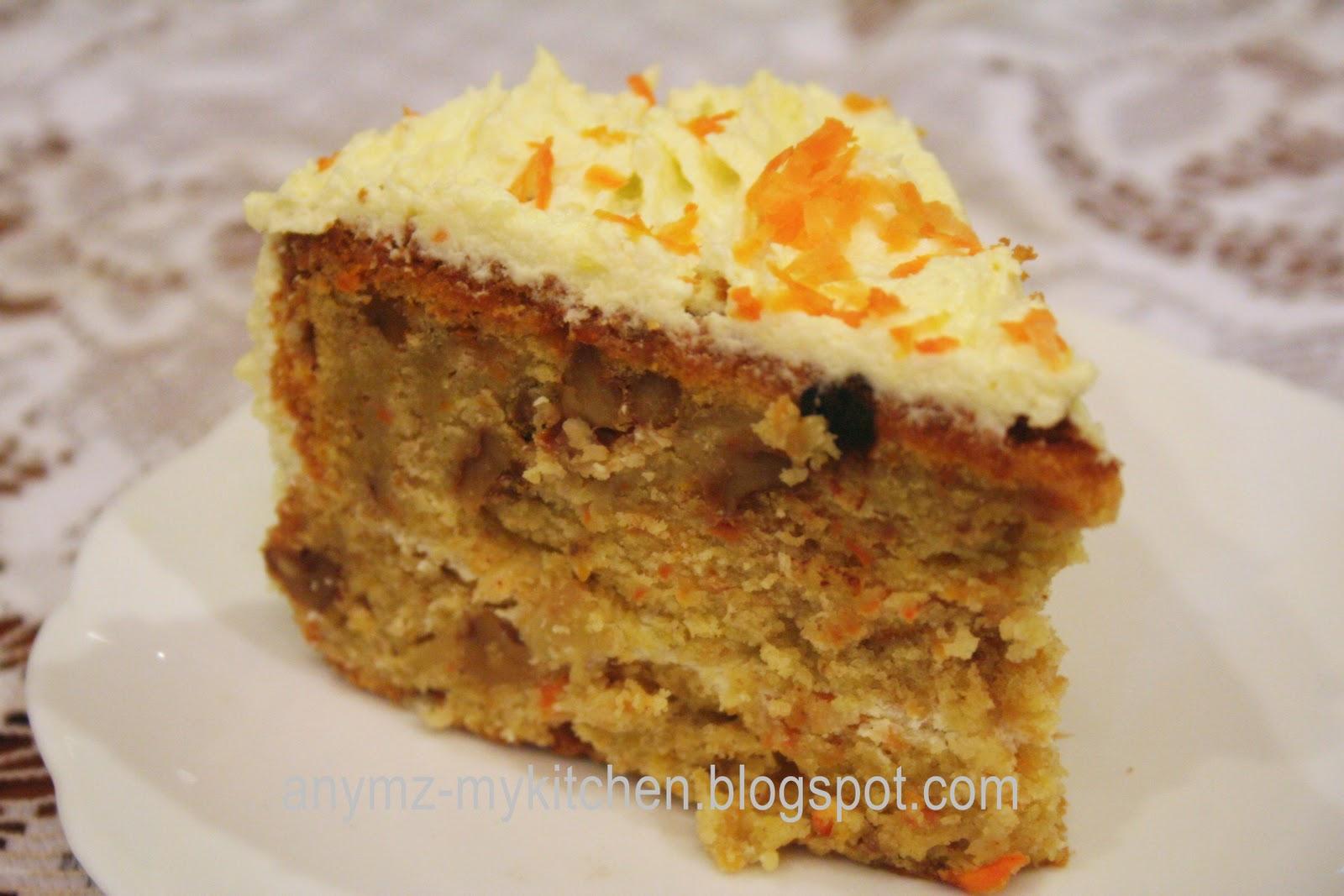 Carrot Walnut Cake