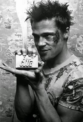Poster El Club de la Lucha Brad Pitt