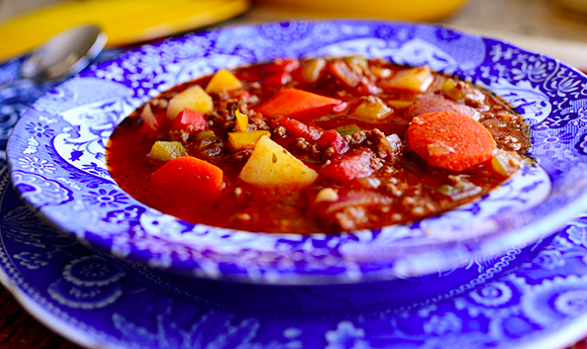 Pioneer Woman's Hamburger Soup