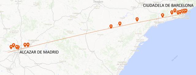 Del ALCÁ-zar de Madrid a la CIUDAD-ela de Barcelona