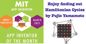 won the  MIT Adult App Inventor of the Month, March 2021