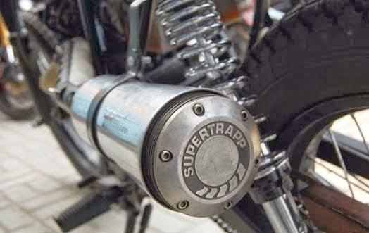 Modifikasi Motor Yamaha Scorpio, Scrambler Rusty