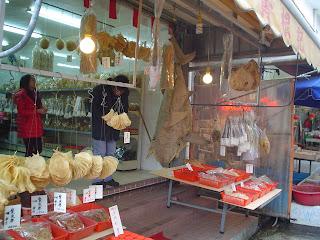 whole dried shark, Tai O Market, Lantau Island, Hong Kong