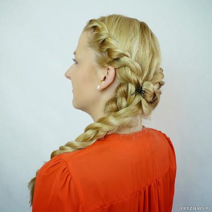 Majówkowa fryzura