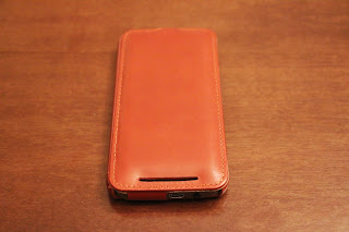 Foto 4 cover HTC One M9 StilGut in pelle cognac