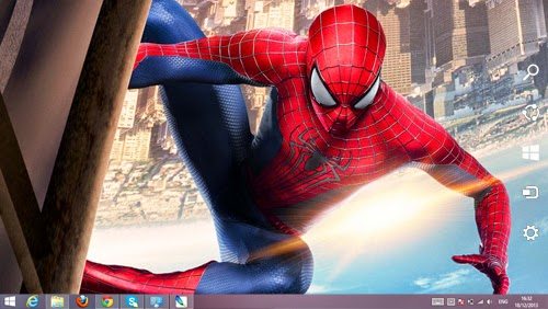 The Amazing Spiderman 2 Theme For Windows 7 And 8 8.1