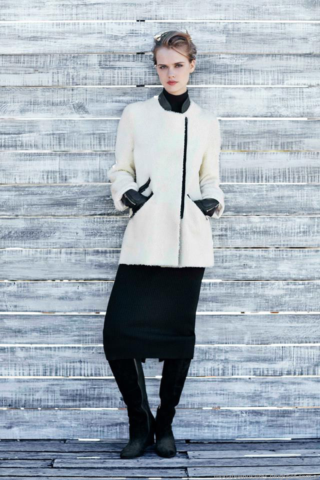 Tapados invierno 2015 mujer Paula Cahen D'Anvers invierno 2015.