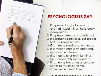 WW #110 | Psychologists Say