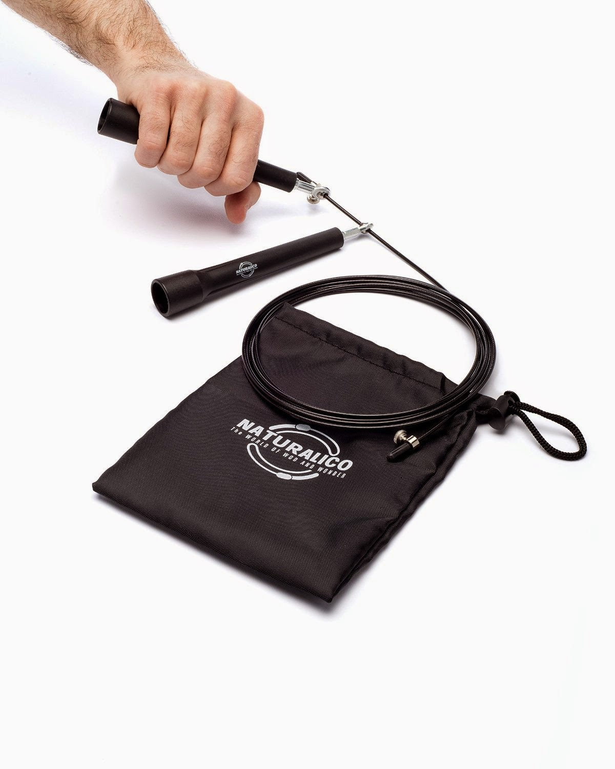 Naturalico Jump Rope With Carry Case