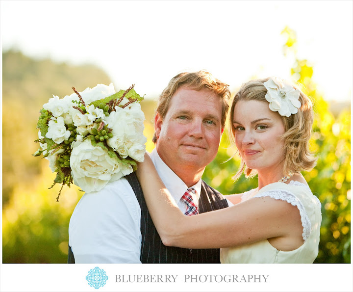 San Francisco natural lighting hay barrel wedding photography session