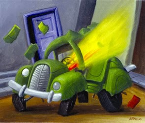 Botero: carro bomba