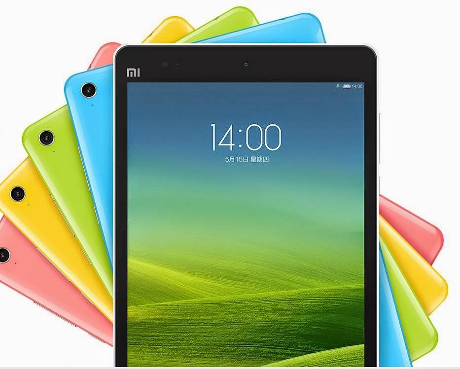 Harga HP tablet Mi Pad Xiaomi Murah dan Berkualitas pada layar