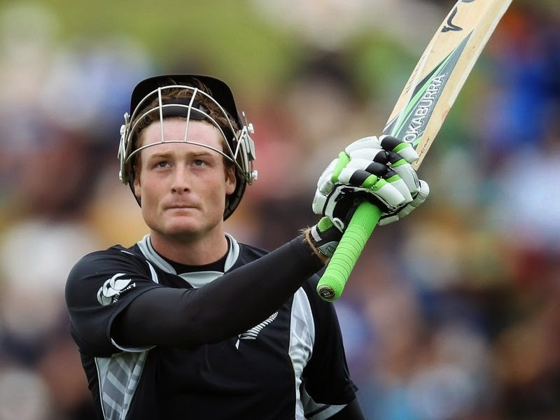 Martin Guptill scored double century at Wellington against West Indies