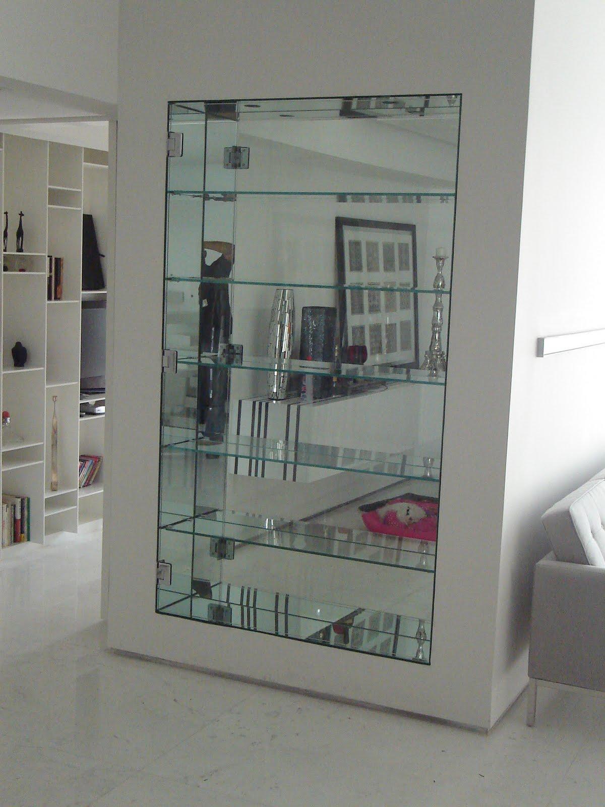 Espelho De Banheiro Com Nicho  gotoworldfrcom decoração de banheiro simples -> Nicho Banheiro Prateleira Vidro