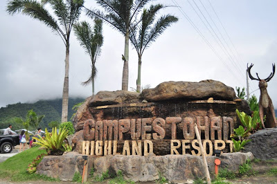 Campuestohan Highland Resort entrance