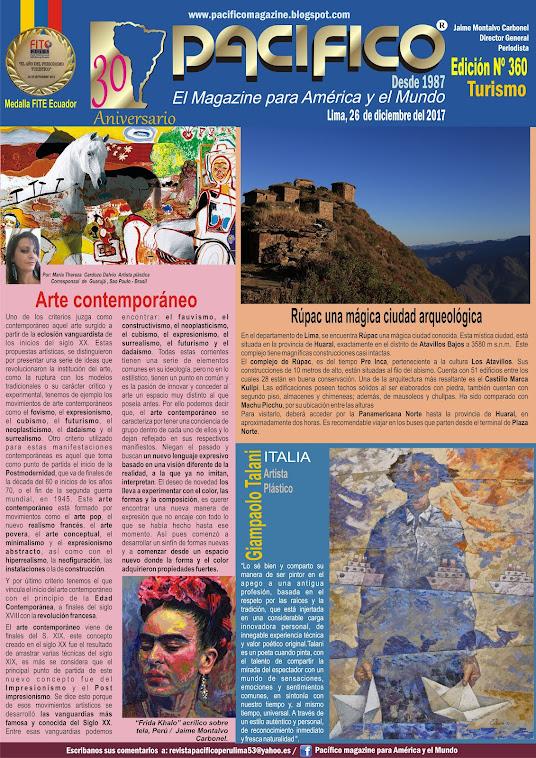 revista Pacífico Nº 360 Turismo