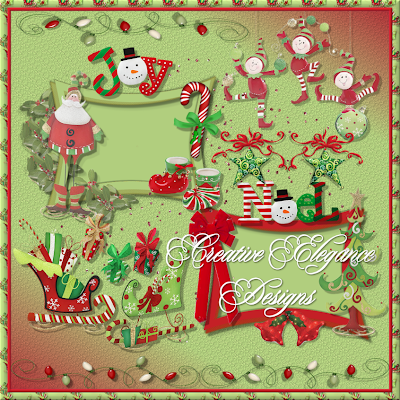 Christmas Elements from Creative Elegance Designs