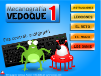 Escribir con teclado