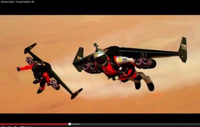 "Manusia Jet ""Iron Man"" di Dunia Nyata Terbang di Dubai"