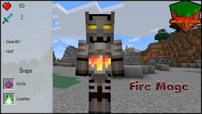 XtraCraft Mod fire mage