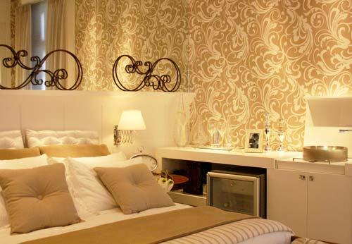 Arquitetura mix casa e decora o - Papel decorado para paredes ...