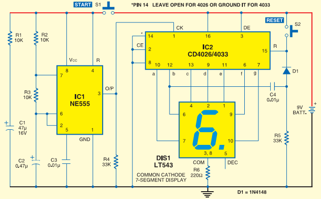 digital clock circuit diagram using  segment display  juanribon, wiring diagram
