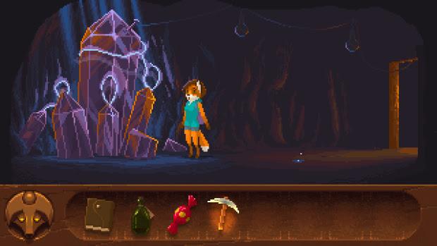 Foxtail es una aventura gráfica pixelada preciosa que busca financiación en Kickstarter