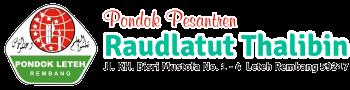 Situs Resmi Pondok Pesantren Raudlatut Thalibin Leteh Rembang