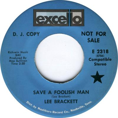 Lee Brackett Ruby Save A Foolish Man
