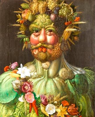 Rudolf II de Hasburg en Vert Humus Arcimboldo