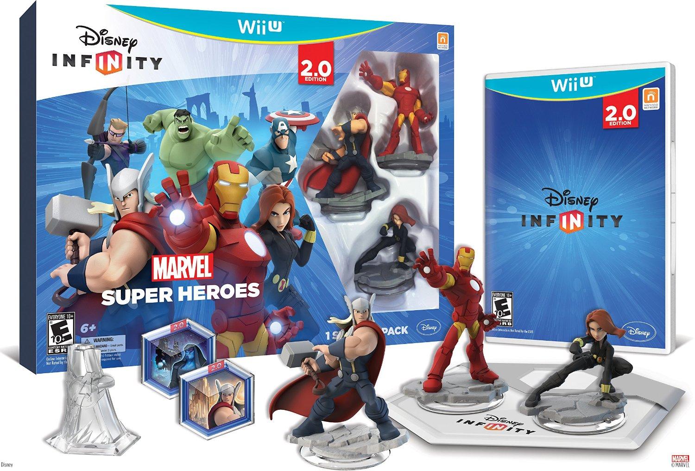 Disney INFINITY:  Marvel Super Heroes Starter Pack - Wii U