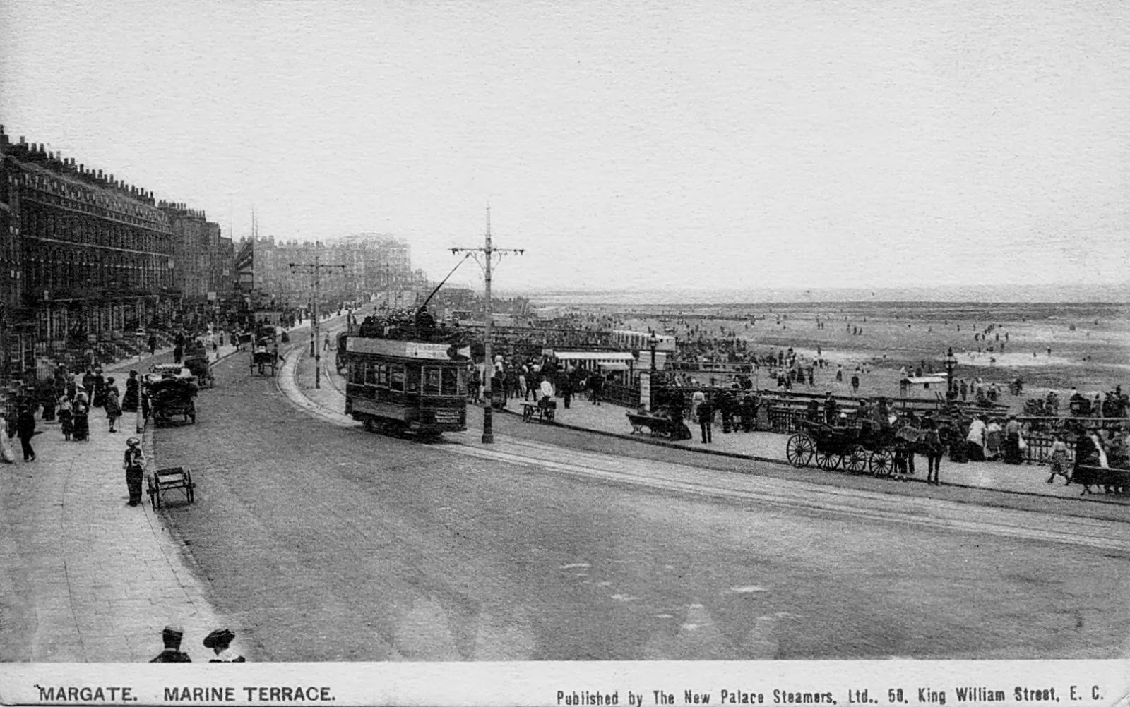 Thanet coast life new palace steamers in postcards for 11 marine terrace