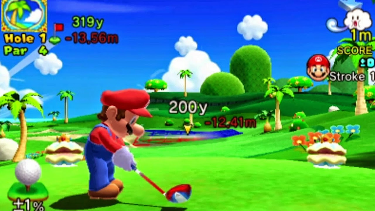 Mario Golf World Tour para Nintendo 3DS