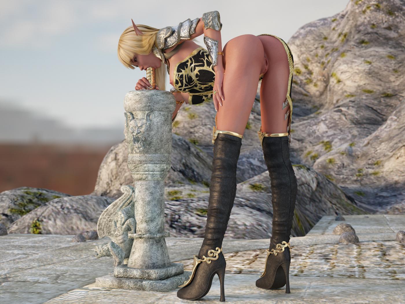 World of porncraft blonde elf adult picture