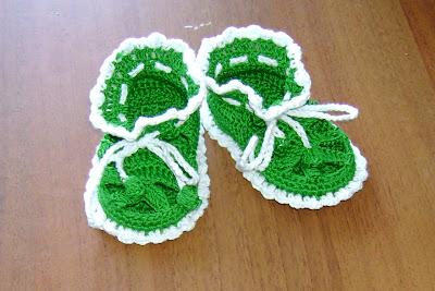 Носочки для новорожденных с завязками