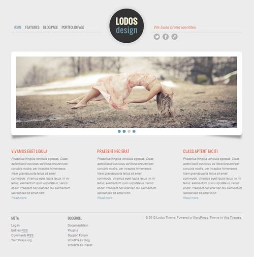 Maxfoundry WordPress Landing Page